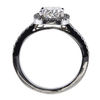 2.02 ct. Cushion Cut Halo Ring #2