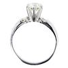 1.08 ct. Round Cut Bridal Set Ring, K, I2 #2