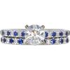 0.75 ct. Round Cut Bridal Set Ring, J, SI1 #3