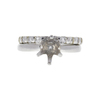 1.25 ct. Round Cut Bridal Set Ring, I, SI2 #3