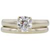0.9 ct. Round Cut Bridal Set Ring, I, SI2 #3