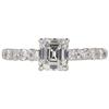 1.14 ct. Emerald Cut Solitaire Ring, G, VVS2 #3