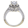 1.24 ct. Oval Cut Bridal Set Ring, G, SI2 #4