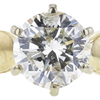 1.18 ct. Round Cut Solitaire Ring, L, I1 #4