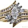 0.7 ct. Marquise Cut Bridal Set Ring, G-H, VS1-VS2 #1