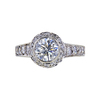 0.95 ct. Round Cut Halo Ring, H-I, SI2-I1 #2
