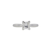 0.8 ct. Princess Cut Solitaire Ring, I, SI1 #3