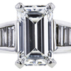 3.74 ct. Emerald Cut Solitaire Ring, E, VS2 #4