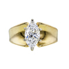 1.28 ct. Marquise Cut Solitaire Ring, E, VS1 #1