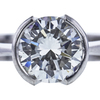 2.03 ct. Round Cut Solitaire Ring, I, VVS1 #4