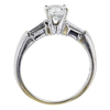 1.02 ct. Round Cut Solitaire Ring, H, SI2 #2