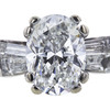 1.51 ct. Oval Cut Bridal Set Ring, G, SI1 #4