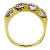 Antique Old European Cut 3 Stone (Uniform) Ring, I-J, VS1-VS2 #3
