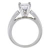 1.42 ct. Princess Cut Bridal Set Ring, G, I2 #3