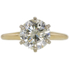 2.76 ct. Round Cut Solitaire Ring, M-Z, I2 #3