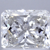 1.08 ct. Radiant Modified Cut Halo Ring, H, VVS1 #1