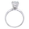 1.52 ct. Round Cut Bridal Set Ring, K-L, I2 #3