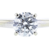 0.76 ct. Round Cut Bridal Set Ring, I, VS2 #4