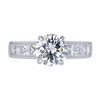 1.54 ct. Round Cut Solitaire Ring, I, I1 #3