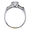 1.34 ct. Round Cut 3 Stone Ring, I, VS2 #1