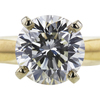 1.26 ct. Round Cut Solitaire Ring, J, VS1 #4