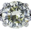 1.44 ct. Round Cut Bridal Set Ring, M-Z, I1 #1