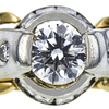 1.21 ct. Round Cut Solitaire Ring, G, VS2 #4