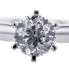0.99 ct. Round Cut Solitaire Ring #4