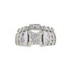 1.51 ct. Princess Cut Bridal Set Ring, F, SI1 #3