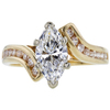 1.01 ct. Marquise Cut Solitaire Ring, F, VS1 #3