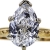 2.02 ct. Pear Cut Solitaire Ring, D, I1 #4