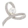 9.95 ct. Round Cut Pendant Necklace, White #1