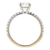 1.08 ct. Round Cut Solitaire Ring, K, VS2 #4