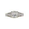 1.35 ct. Princess Cut Solitaire Ring, K, VS2 #3