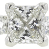 1.51 ct. Princess Cut Bridal Set Ring, H, SI1 #4