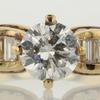 1.13 ct. Round Cut Bridal Set Ring #1