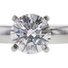 1.01 ct. Round Cut Bridal Set Ring, E, IF #4