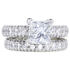 1.70 ct. Round Cut Bridal Set Tacori Ring, H, VS1 #3