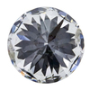 1.00 ct. Round Cut Halo Ring, F, SI1 #2