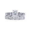 0.91 ct. Oval Cut Bridal Set Ring, I, I1 #3