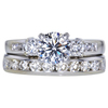 0.85 ct. Round Cut Right Hand Ring, E, SI1 #3