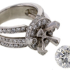 2.10 ct. Round Cut Solitaire Ring #4