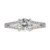0.82 ct. Round Cut Solitaire Ring, E, SI1 #3