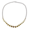 Round Cut Station Necklace, Fancy, SI2-I1 #2