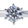0.73 ct. Round Cut Bridal Set Tiffany & Co. Ring, D, VVS1 #4