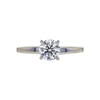 0.81 ct. Round Cut Solitaire Ring, G, SI2 #3