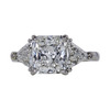 2.07 ct. Radiant Cut 3 Stone Ring, I, SI1 #3