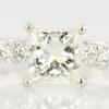 1.43 ct. Princess Cut Bridal Set Ring #2