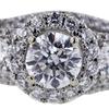 1.00 ct. Round Cut Bridal Set Ring #2