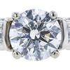 2.00 ct. Round Cut Ring, F, I1 #4